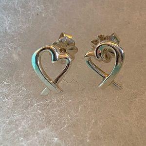 Tiffany & Co Paloma Picasso Loving Hearts Earrings